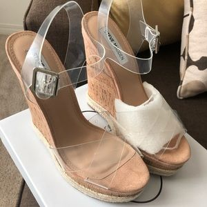 Steve Madden - Maven Clear Sandals 9.5